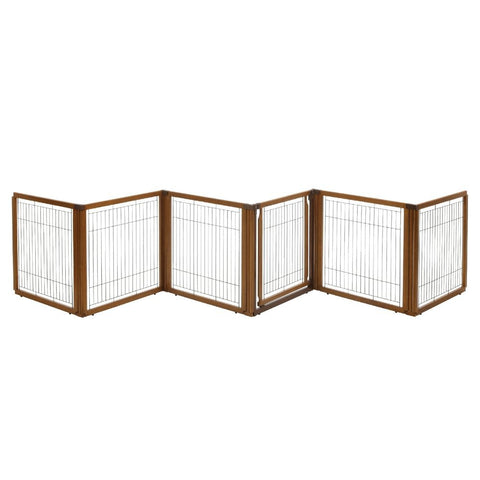 Richell R94171 Convertible Elite Pet Gate 6-Panel