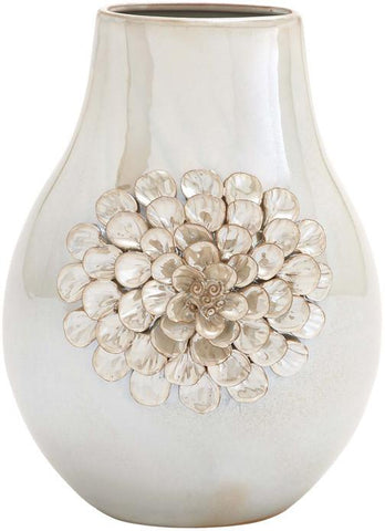 Benzara 62153 Huangpu Ceramic Vase Decorative