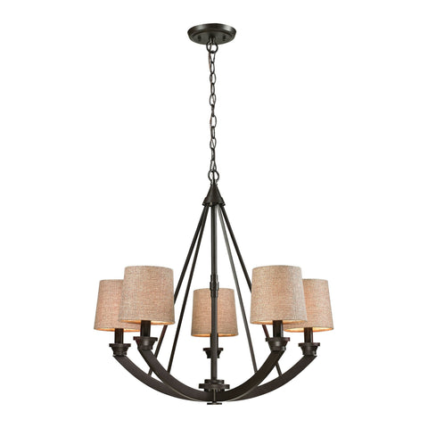 ELK Lighting 63074/5 Morrison Collection Oil Rubbed Bronze Finish - PeazzLighting