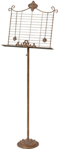 Benzara 63203 Metal Music Stand Excellent Best Buy