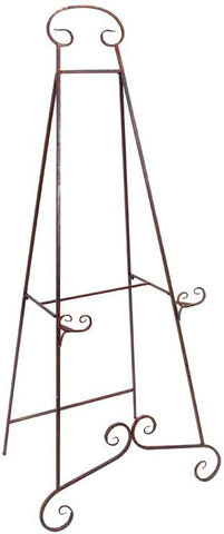 Benzara 63262 Metal Heavy Duty Easel 32 Inches Wide