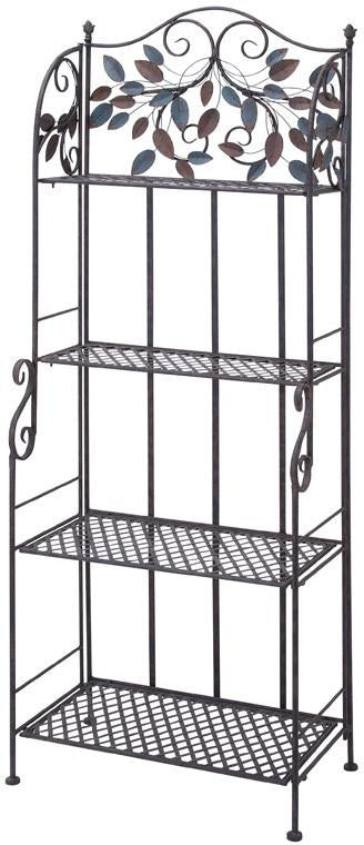 "Bayden Hill Metal Baker Rack 68""H, 26""W"