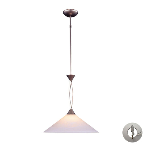 ELK Lighting 6500/1-LA Elysburg Collection Satin Nickel Finish - PeazzLighting