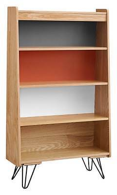 Linon 650245ASH01U Perry Bookcase
