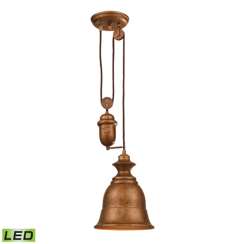 ELK Lighting 65060-1-LED Farmhouse Collection Bellwether Copper Finish - PeazzLighting