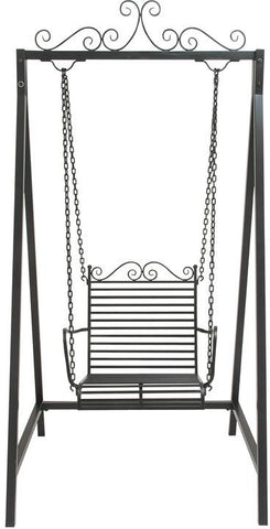 "Bayden Hill Mtl Swing Chair 44""W, 87""H - Peazz.com"