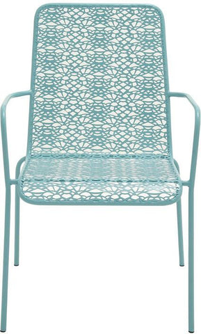 "Bayden Hill Mtl Outdoor Chair 23""W, 37""H - Peazz.com"