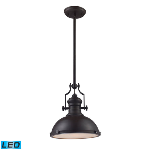 ELK Lighting 66134-1-LED Chadwick Collection Oiled Bronze Finish - PeazzLighting