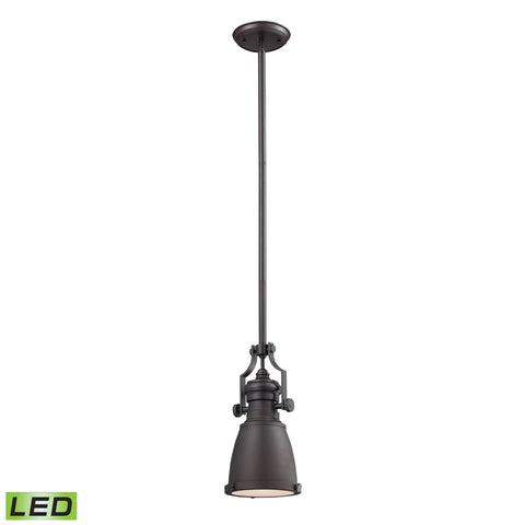 ELK Lighting 66139-1-LED Chadwick Collection Oiled Bronze Finish - PeazzLighting