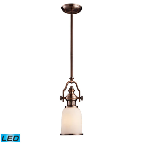 ELK Lighting 66142-1-LED Chadwick Collection Antique Copper Finish - PeazzLighting