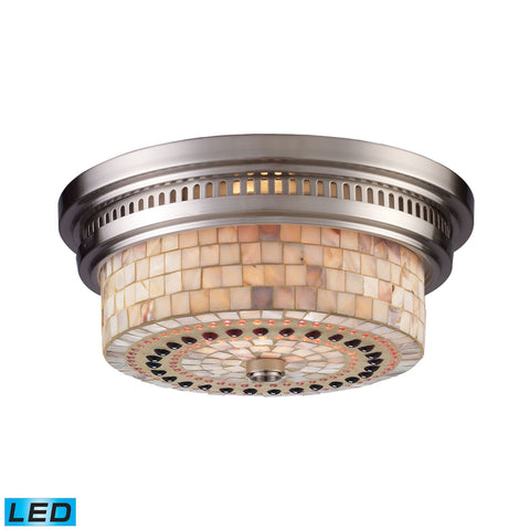 ELK Lighting 66421-2-LED Chadwick Collection Satin Nickel Finish - PeazzLighting