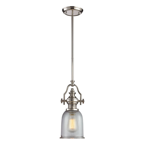 ELK Lighting 66781-1 Chadwick Collection Polished Nickel Finish - PeazzLighting