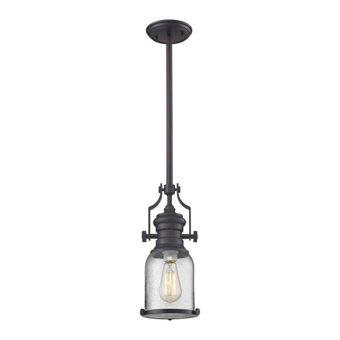 ELK Lighting 67722-1 Chadwick Collection Oil Rubbed Bronze Finish - PeazzLighting
