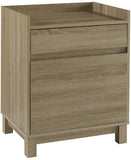 Linon 69335GRY01U Tracey Filing Cabinet