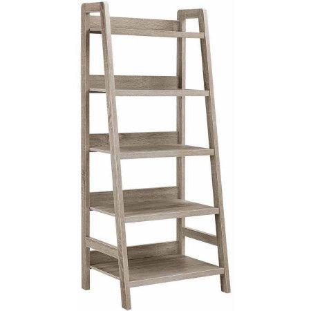 Bayden Hill 69336GRY01U Tracey Ladder Bookcase