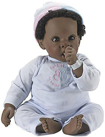 Madame Alexander Babble Baby, Brown Hair, Brown Eye Angel Love Doll - Peazz.com
