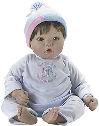 Madame Alexander Babble Baby, Brown Hair, Brown Eye Baby Face Doll - Peazz.com