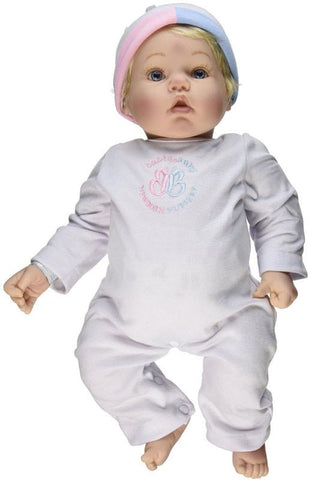 Madame Alexander Babble Baby, Blonde Hair, Blue Eye Baby Face Doll - Peazz.com