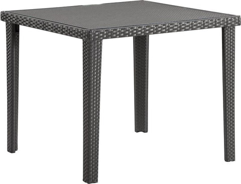 Zuo Modern 701356 Cavendish Square Dining Table Color Espresso Aluminum Frame Finish - Peazz.com - 1