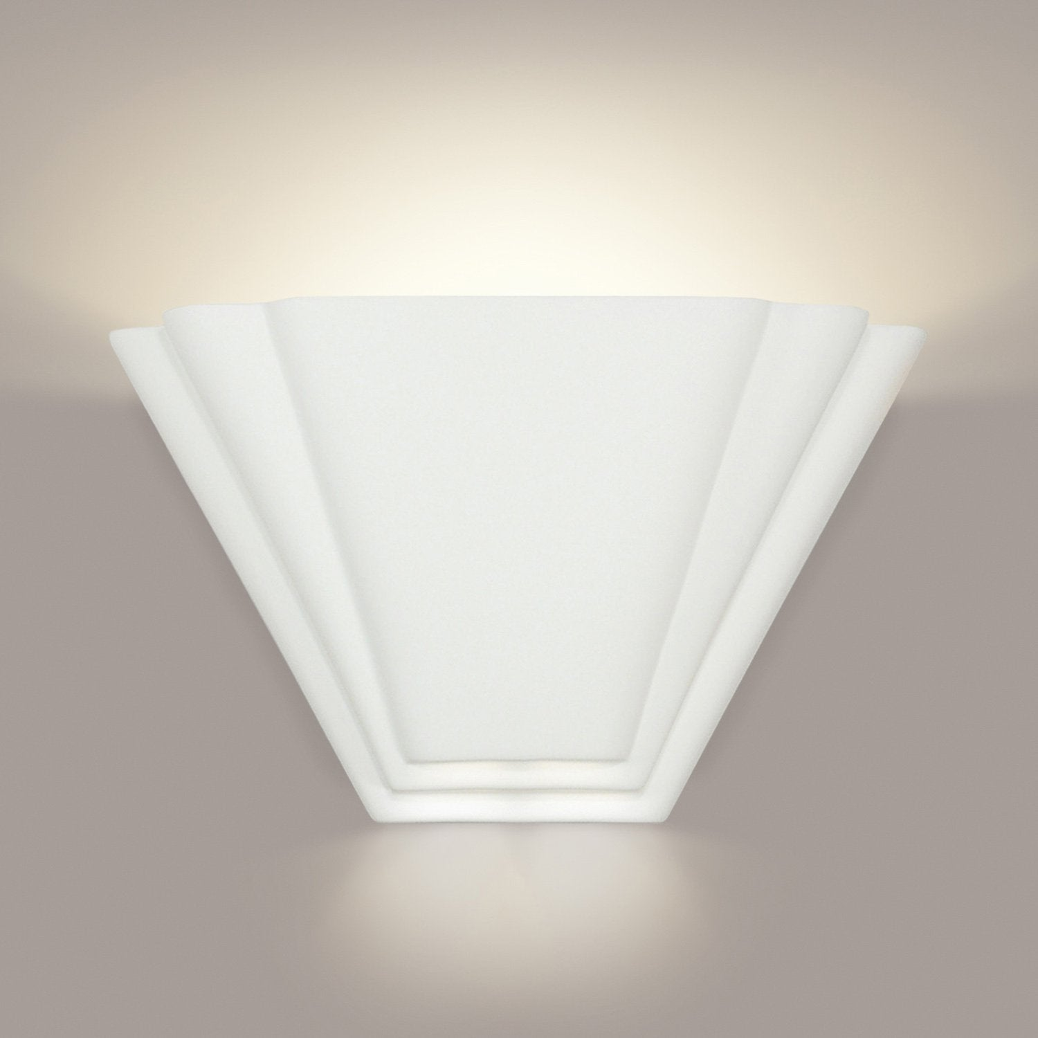 A19 701-WET-A26 Islands of Light Collection Bermuda Pinot Noir Finish Wall Sconce
