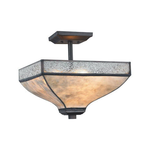 ELK Lighting 70202/3 Santa Fe Collection Tiffany Bronze Finish - PeazzLighting