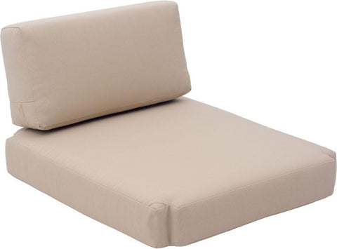 Zuo Modern 703570 Bilander Arm Chair Cushions Color Beige Foam Finish - Peazz.com