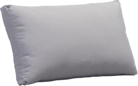 Zuo Modern 703585 Sand Beach Back Cushion Color Light Gray Foam Finish - Peazz.com