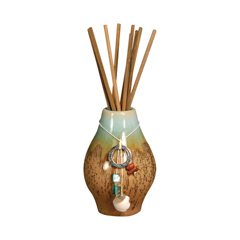 Pomeroy POM-703737 Harmony Collection Turquoise,Brown Finish Diffusers/Incense