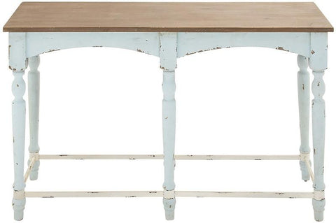 Benzara 70935 Antique Styled Amazing Wood Console Table