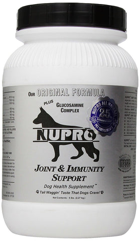 Nupro 14095 Nupro Joint Support For Dogs, 5 lb Silver - Peazz Pet