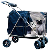 Kittywalk 5th Ave Luxury Pet Stroller SUV (KWPS 5AVE SUV) - Peazz.com - 1