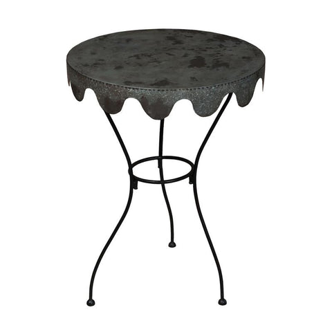 Guildmaster GUI-714567 Wine Country Collection Black Finish Table