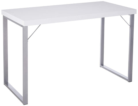 "Monarch I 7154 Metal Computer Desk, 48"", White"