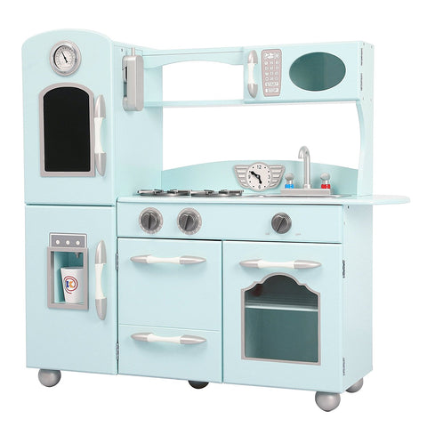 Teamson TD-11414M Teamson Kids - Little Chef Westchester Retro Play Kitchen - Mint