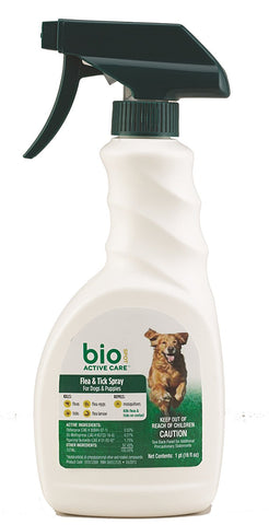 Bio Spot F/T Spray for Dogs and Puppies 24 oz - Peazz Pet