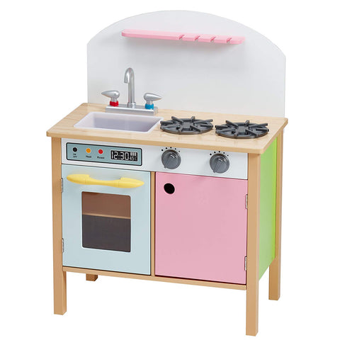 Teamson TD-11415A Teamson Kids - Little Chef Chester Classic Play Kitchen - Pink