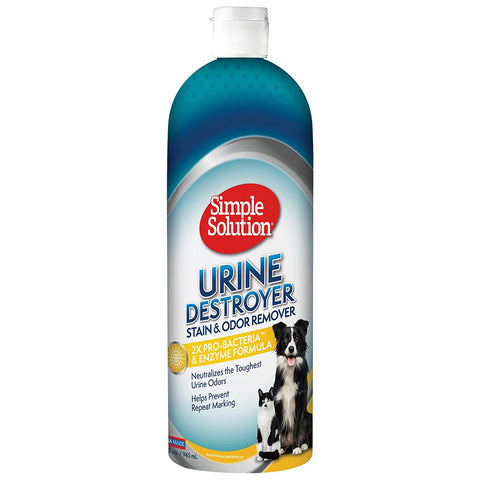 Simple Solution 11362-12P Dog Urine Destroyer 32oz