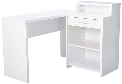 Monarch Computer Desk, White