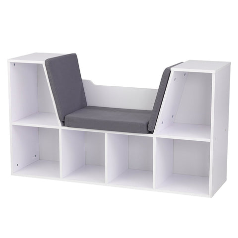 KidKraft 14230 Bookcase with Reading Nook - White