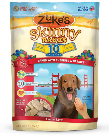 Zuke's Z-30437 Skinny Bakes 10's Cherry and Berry 12 oz.