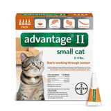 Advantage ORANGE-10-4 Flea Control for Cats 1-9 lbs 4 Month Supply