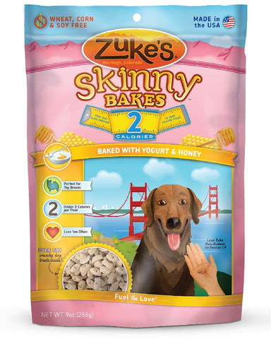 Zuke's Z-30332 Skinny Bakes 2's Yogurt and Honey 9 oz.