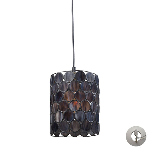 ELK Lighting 72001-1-LA Cirque Collection Matte Black Finish - PeazzLighting