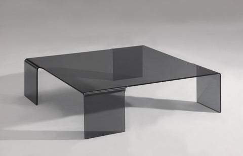 Chintaly 7260-CT 7260 Square Bent Cocktail Table