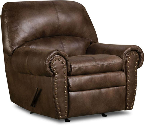 United Furniture Industries 7510-19 Padre Espresso Rocker Recliner - Peazz.com