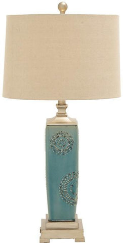 "Bayden Hill Ceramic Ps Table Lamp 30""H - Peazz.com"