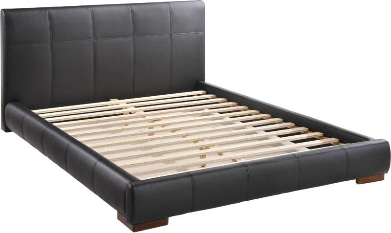 King Bed Color Black Wood Amelie 1598 Product Photo