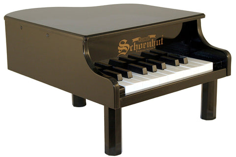 Schoenhut 18 Key Mini Grand Child Piano Black 189B - Peazz Toys