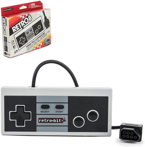 NES Style 8-Bit Wired Controller - Classic Color (RB-NES-7482)