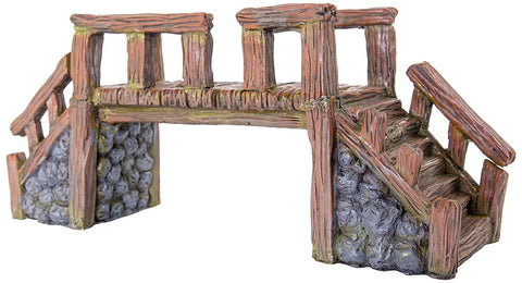 BioBubble BIO-60228100 Decorative Wood Bridge